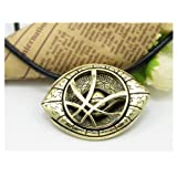 Amazon Price History for:2016 newest film Doctor Strange necklaces pendants for men eye shape alloy antique bronze eye of Agamotto 1:1