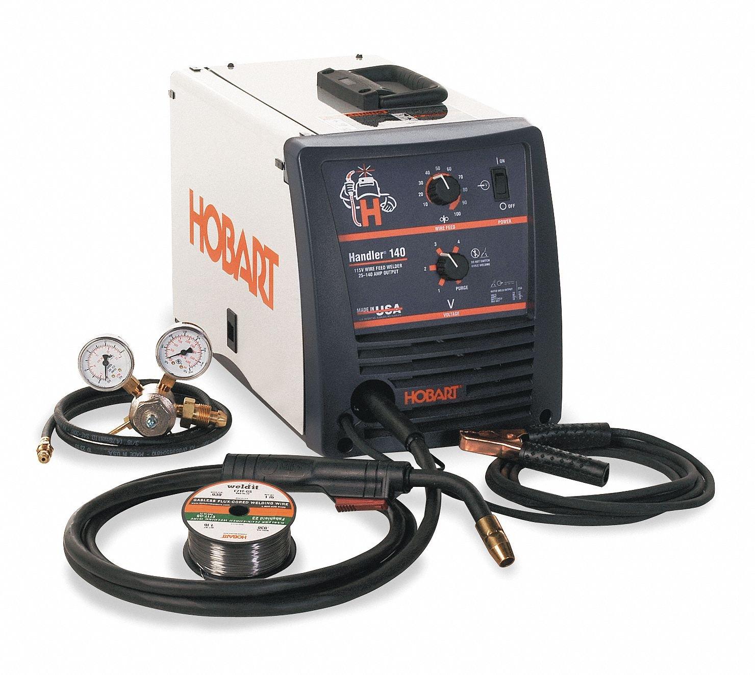Hobart MIG Welder, Handler 140 Series, Input Voltage: 120VAC