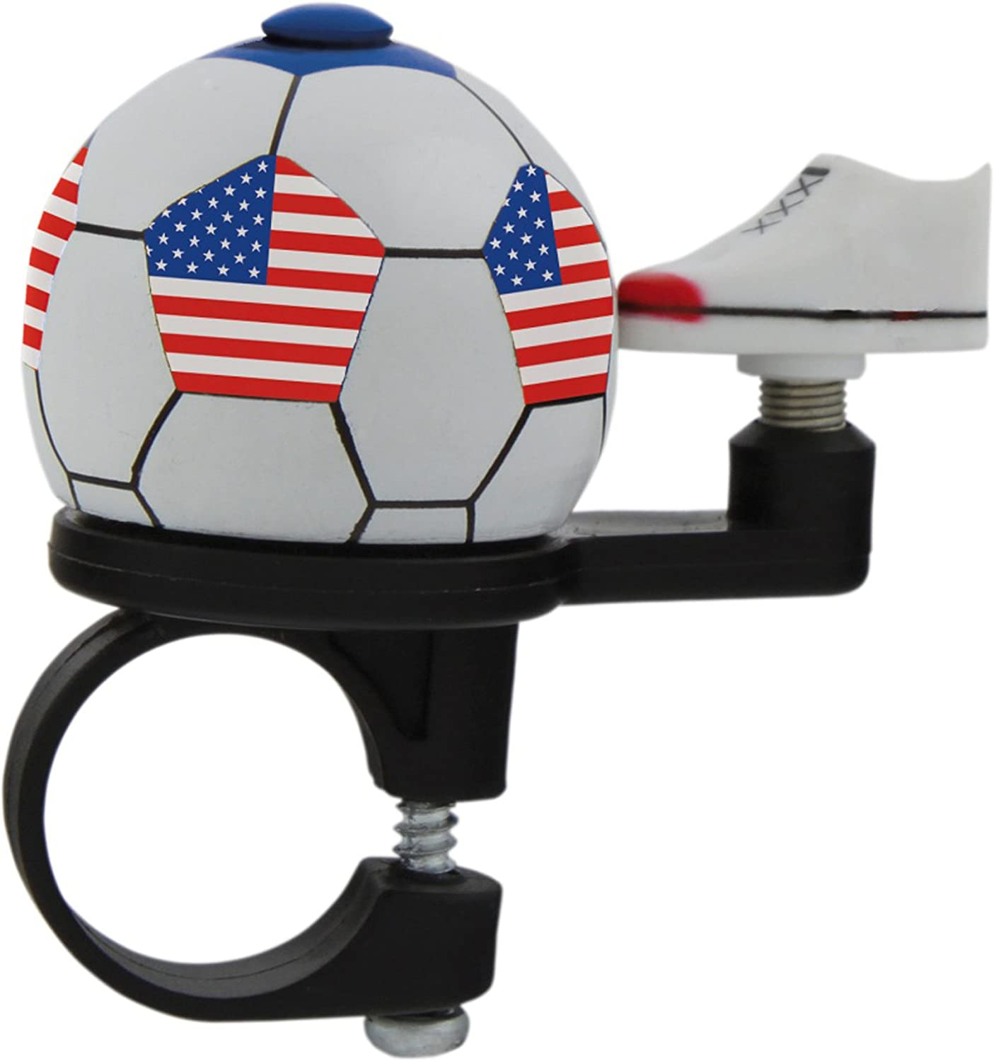 M-Wave USA Soccer Bicycle Bell