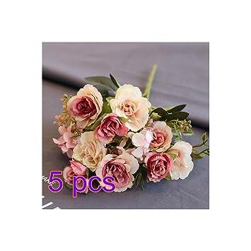 Doolland Kunstliche Pfingstrose Hochzeit Blumen Bush Blumenstrauss