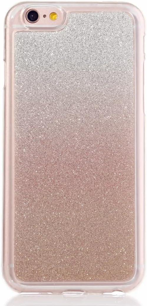 MUTOUREN iPhone SE 5 5S Funda de movil Calidad Alta TPU Silicona Funda cáscara Protectora Shell Soft Funda Caso Cubierta Oro Rosa Sistemas de teléfono móvil Shell Manguito Protector