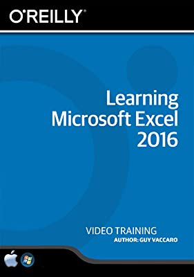 Learning Microsoft Excel 2016 [Online Code]