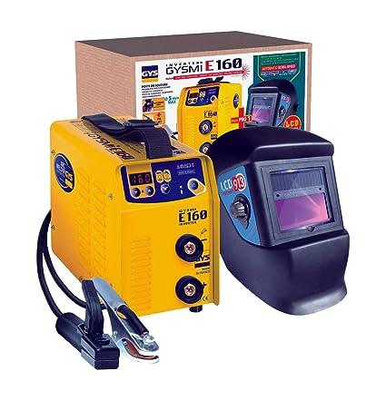 Abratools 371031548 Pack Inverter Mma Gysmi E160+Pantalla Master Lcd 9/13 230 V