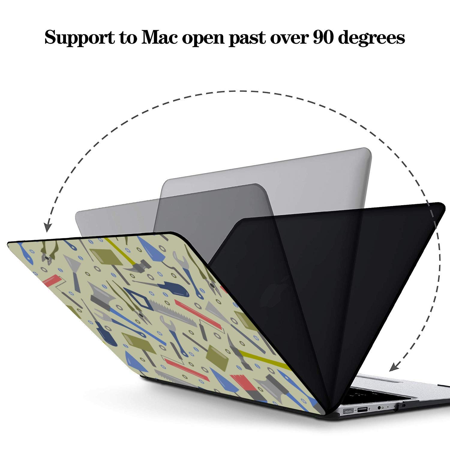 A1706 MacBook Pro Case School Supplies Cute Stationery Bag Plastic Hard Shell Compatible Mac Air 11 Pro 13 15 15 Inch Laptop Case Protection for MacBook 2016-2019 Version