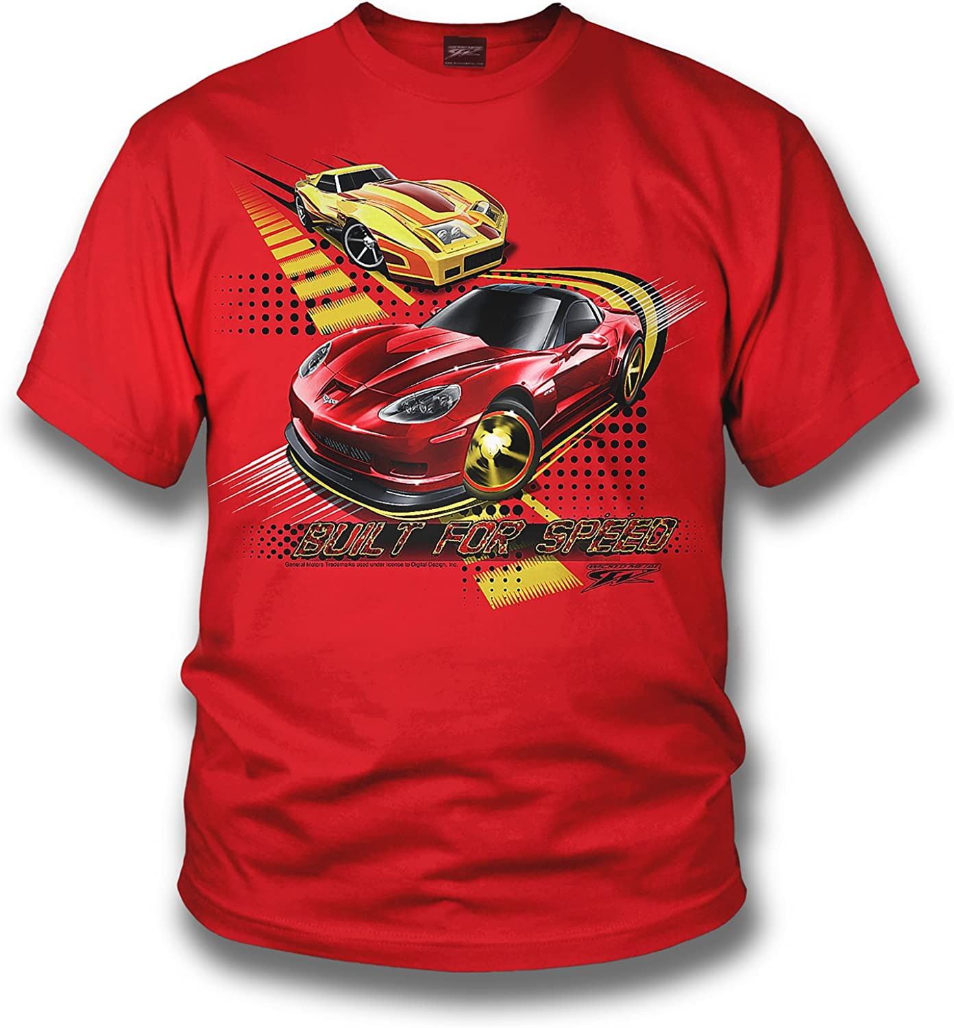 Wicked Metal Kids - Built for Speed Corvette - Red