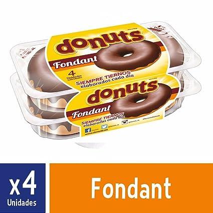 Donuts Fondant - Paquete de 4 x 55 gr - Total: 220 gr: Amazon.es: Alimentación y bebidas