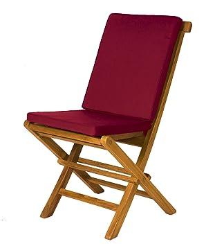 Attrayant All Things Cedar 2 Folding Chair Cushions, Maroon