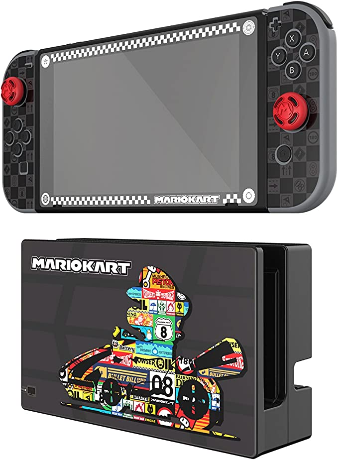 PDP - Play And Protect Skins Mario Kart Edition (Nintendo Switch ...