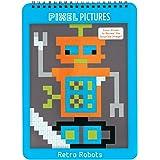 Mudpuppy Retro Robots Pixel Pictures