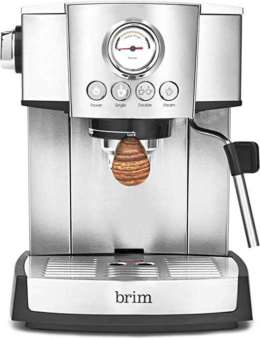 Amazon.com: BRIM 15 BAR ESPRESSO MAKBASIC: Kitchen & Dining