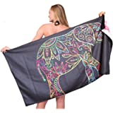 Microfiber Sand Free Beach Towel-Quick Fast Dry Super Absorbent Oversized Lightweight Big Large Towels Blanket for…