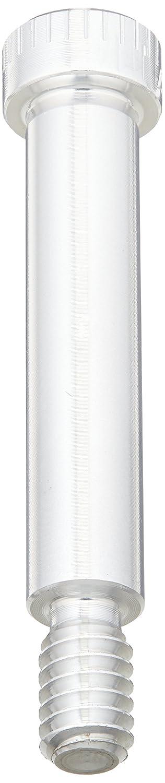 Grade 2 Titanium Shoulder Screw Socket Head Cap #8-32 Thread Size 3//16 Shoulder Diameter 1//4 Shoulder Length Meets ASME B18.3 Hex Socket Drive Standard Tolerance