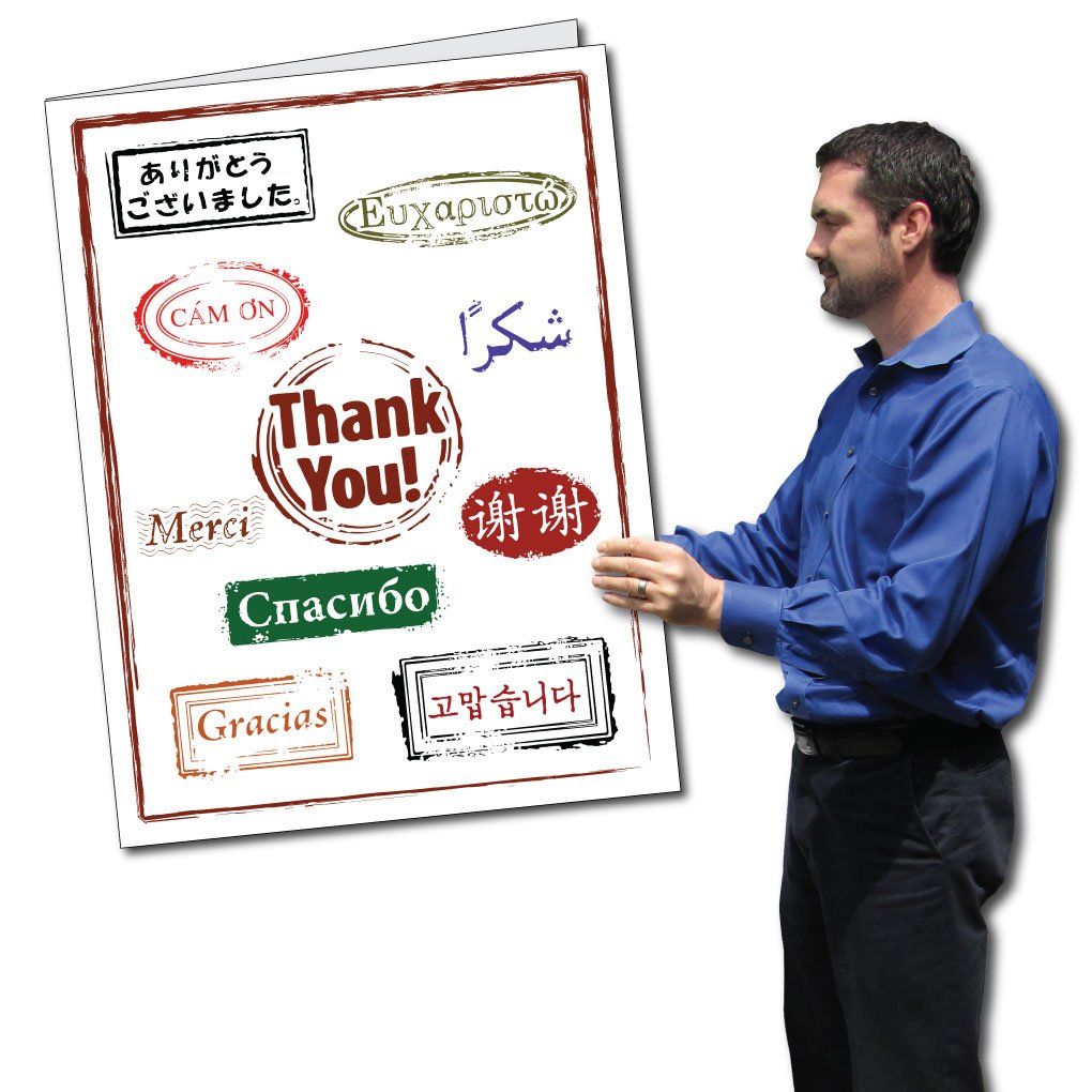Oversized Thank You Cards Topsimages