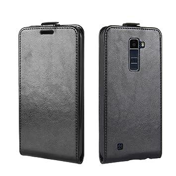adorehouse LG K10 Funda, Vertical Flip Case Premium PU Cuero ...