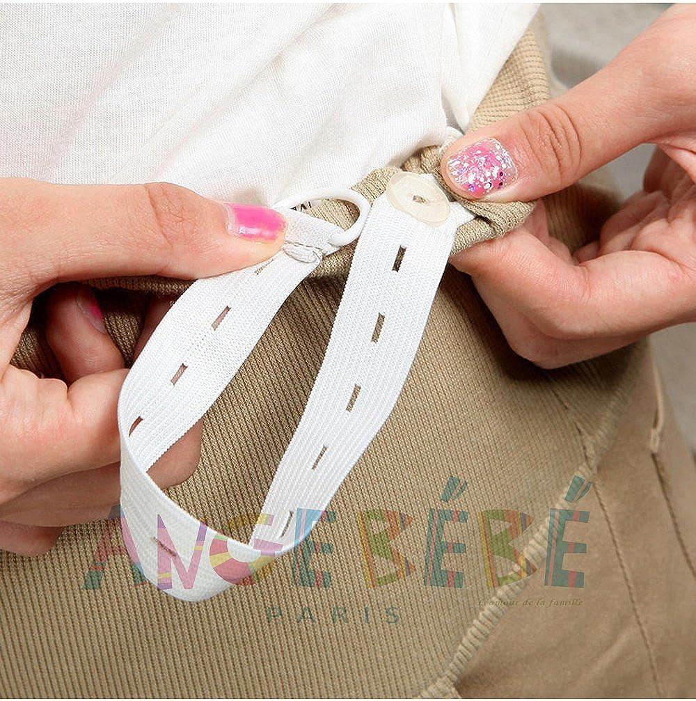 Angebébé - Pantalón de embarazo - Pantalón para mujer altavoz - Pantalón de escritorio Negro negro: Amazon.es: Ropa y accesorios