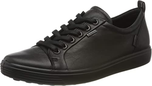 ECCO Women's Soft 7 Gore tex Tie Sneaker