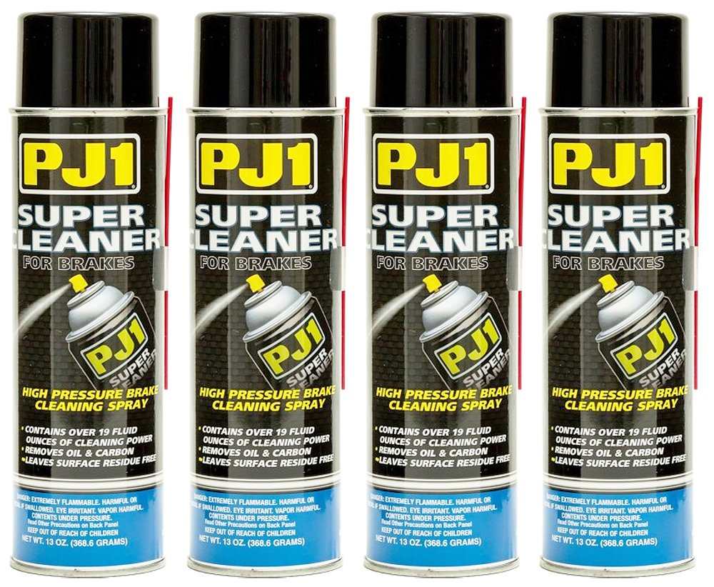 PJ1 3-21-4PK Super Cleaner Spray, 52 oz, 4 Pack (CA Compliant) by PJ1
