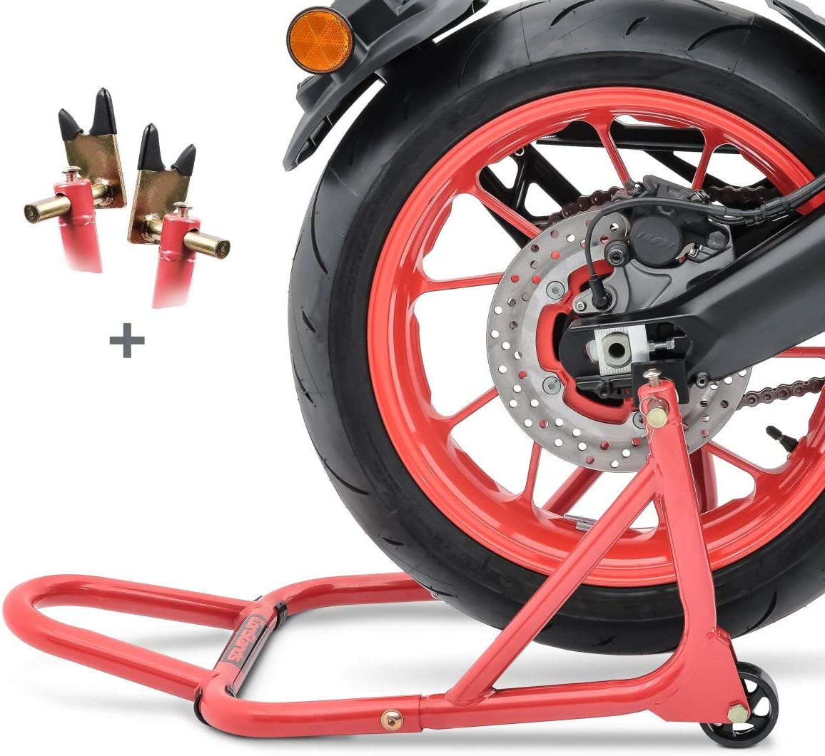 B/équille datelier arri/ère pour KTM 690 SMC//R ConStands ST Universal-Racing rouge