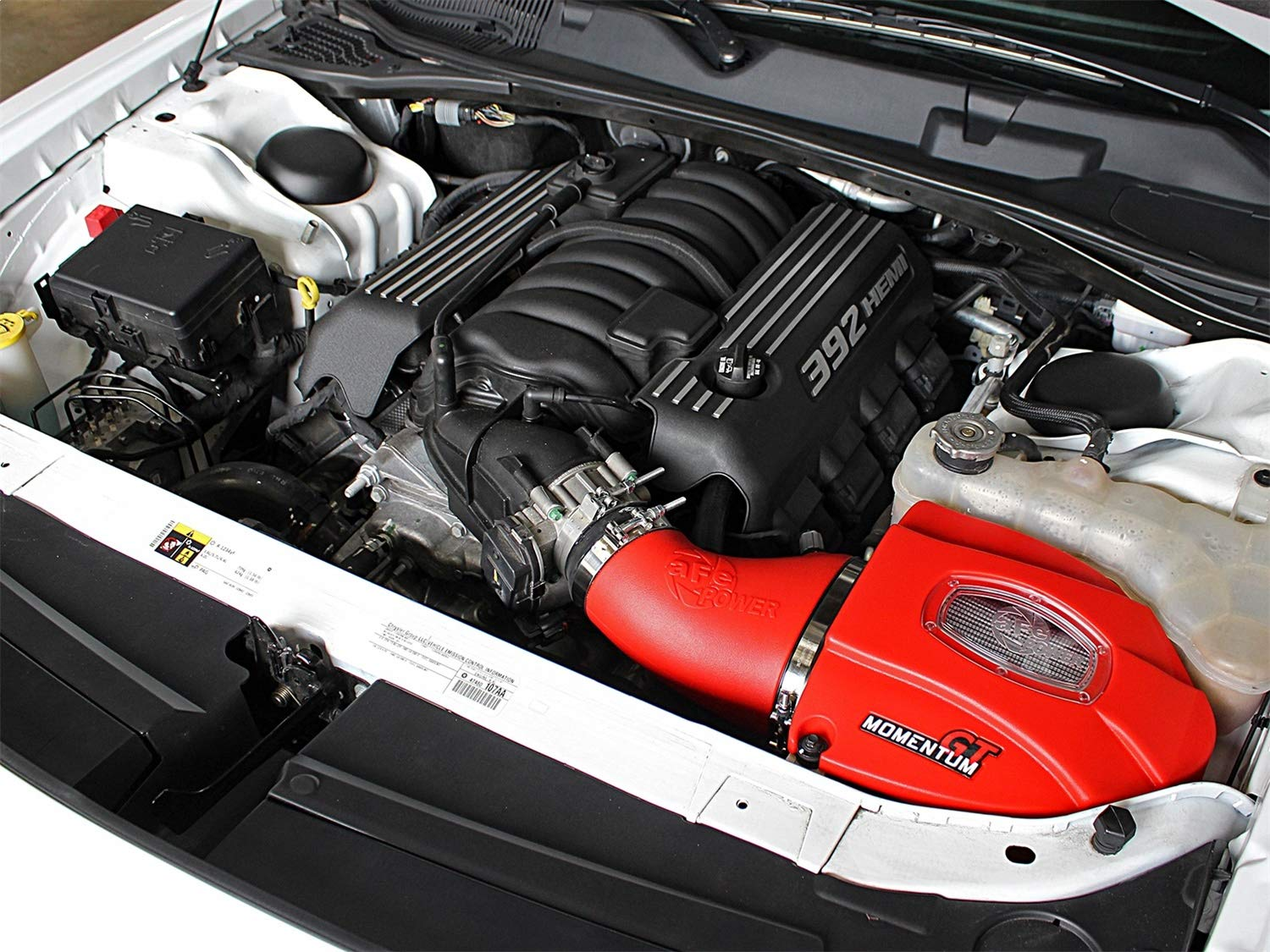Dry, 3-Layer Filter N aFe Power Momentum GT 51-72203-R Performance Cold Air Intake System 1 Pack,