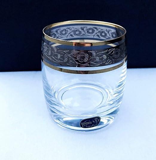Vasos de whisky de cristal – juego de 6 por Bohemia 10oz/290ml ...