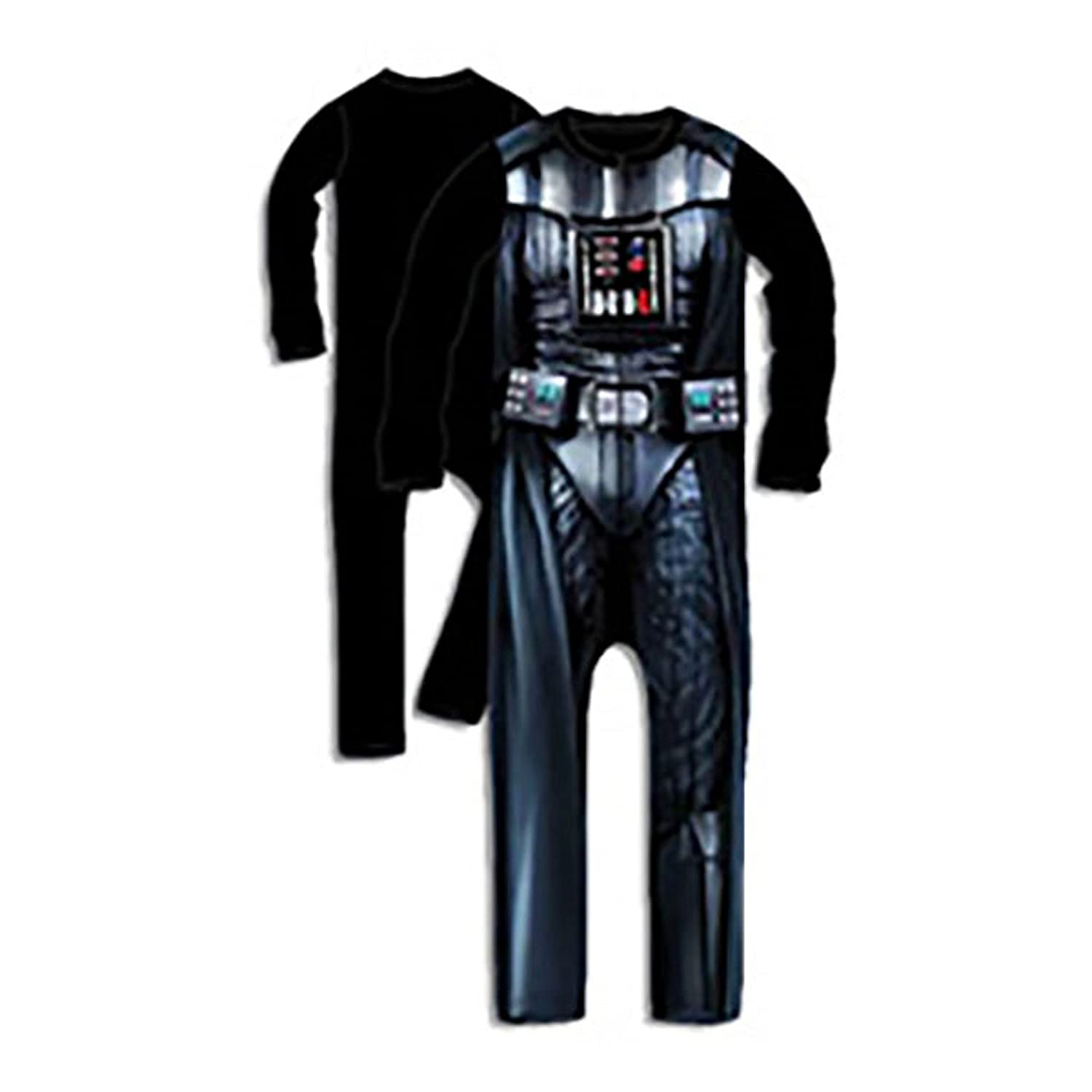 Boys official licenced product star wars darth vader storm trooper one piece