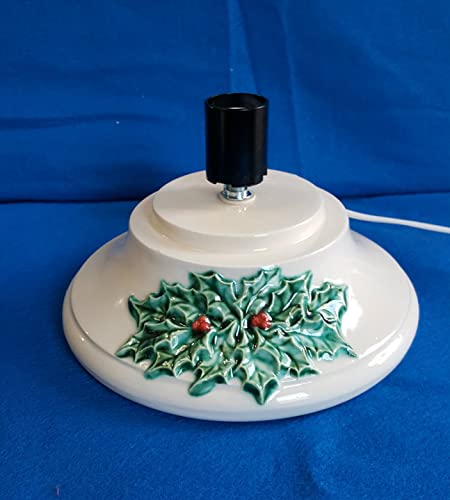 Extra Large Ceramic Christmas Tree Replacement Base Glazed Finish