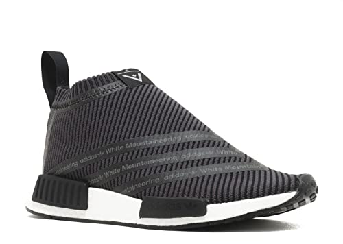 ca0bd3fb1 Adidas x White Mountaineering NMD CS1 City Sock PK Primeknit Black Trainer  Size 7.5 UK  Amazon.co.uk  Shoes   Bags