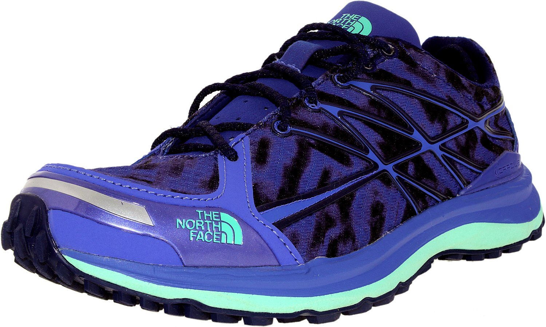 The North Face Ultra TR II Trail Running Shoe - Women's B00RW5MC1G 10 B(M) US|Blue Iris/Surf Green