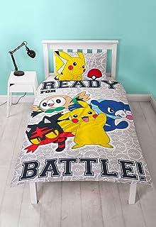 Pokemon Go Catch Laredo Single Bedding Set Duvet Cover Kids Children