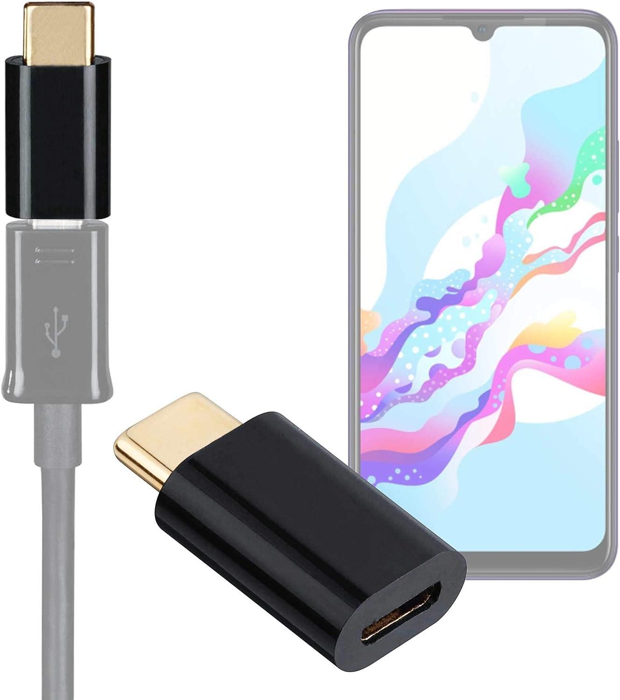 DURAGADGET Adaptador de Micro USB a USB-C Compatible con Vivo Z5, ZTE Nubia Z20 bañado en Oro: Amazon.es: Electrónica