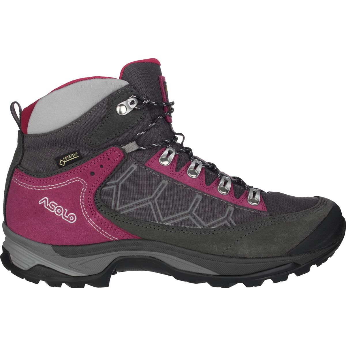 Asolo Women Falcon GV Hiking Boots B00WE3IDCS 7 B(M) US|Graphite/Graphite