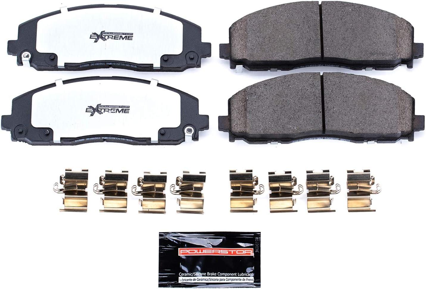 Frt Severe Duty Brake Pads  Power Stop  Z36-812