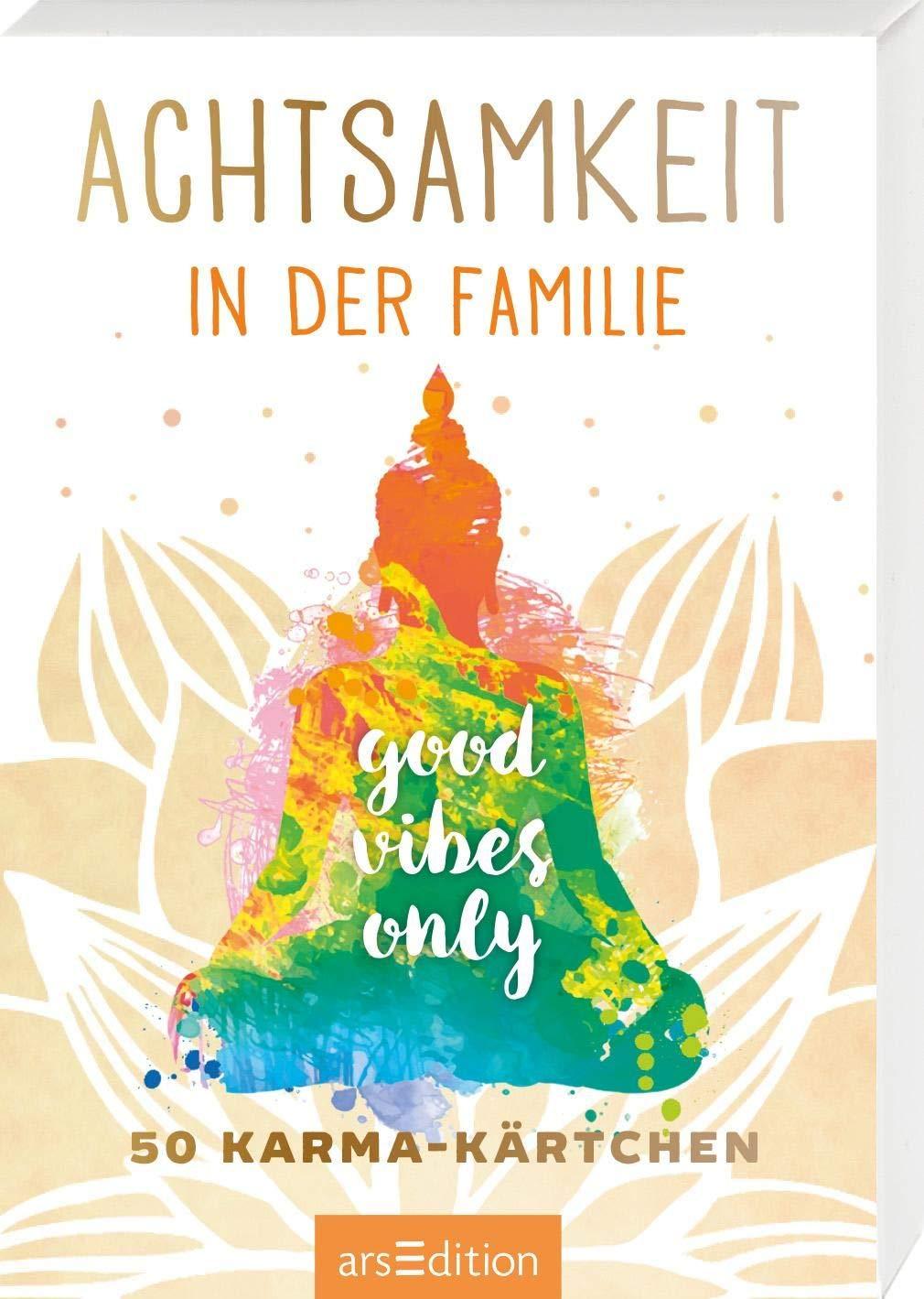 Achtsamkeit In Der Familie  50 Karma Kärtchen  Achtsamkeitskärtchen