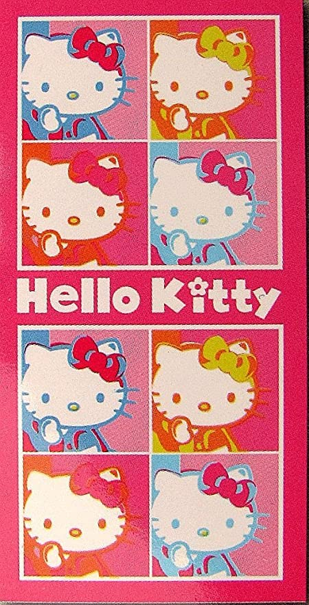 Hello Kitty Pop Art – Toalla de baño, Playa, toalla de mano – 150
