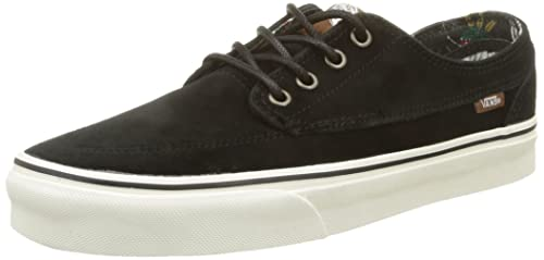 caffc54c9b Image Unavailable. Image not available for. Color  Vans Brigata Desert Tribe  Suede Black Skate Shoes ...