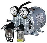 Gast 0523-V4-SG588DX Portable Rotary Vane Vacuum