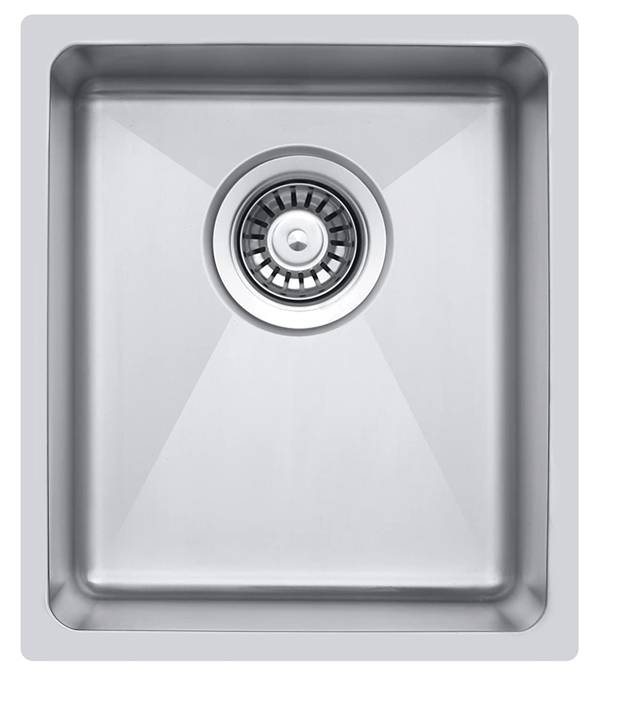 S pequeñ o Radius Cocina Fregadero rectangular para el fregadero \ empotrable. (LA016) GTDE