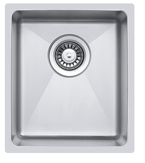 S Piccolo raggio eckiges lavello da cucina per il montaggio a ...