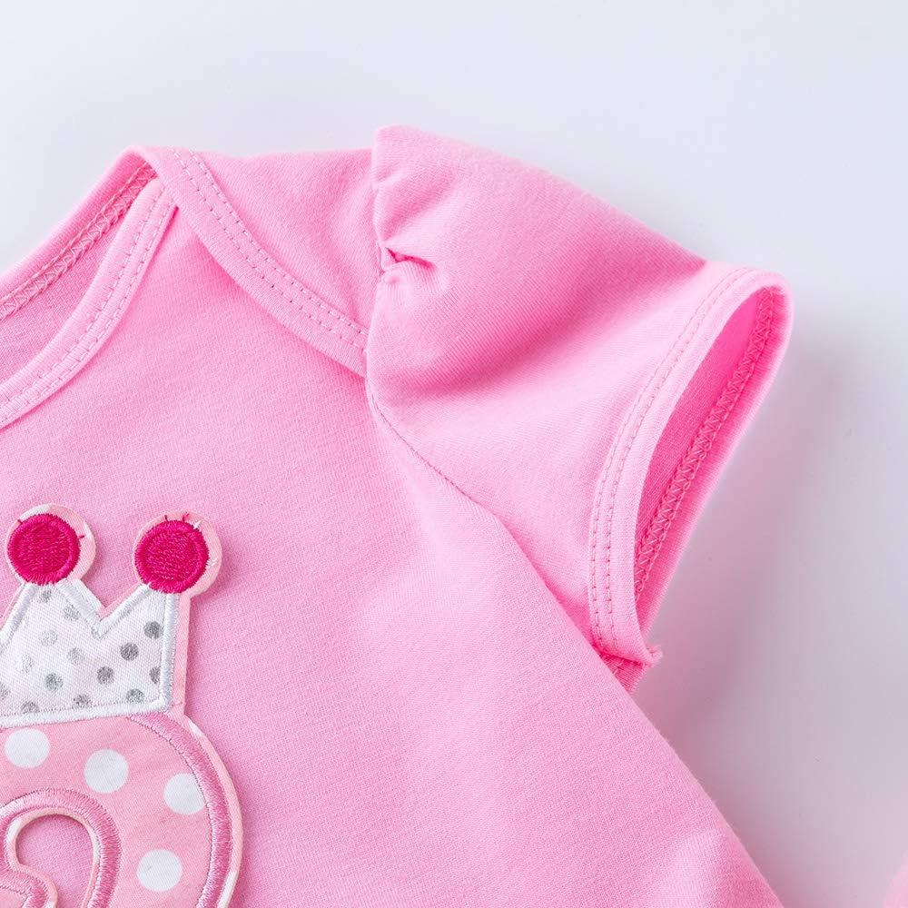 Marlegard Baby M/ädchen Ballon Kleid Einheitsgr/ö/ße 0-24 Monate