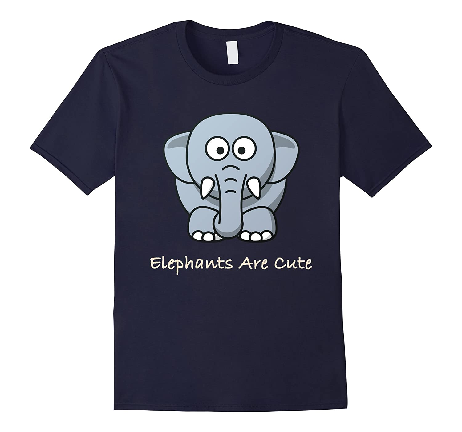 World Elephant Day T-shirt Elephants Are Cute: Save Wildlife-Art