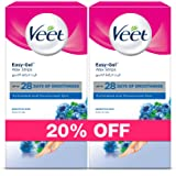 Veet Cold Wax Strips Sensitive 20 strips Twin Pack At 20% Off
