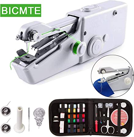 Máquina de coser de mano, máquina de coser eléctrica de mano ...