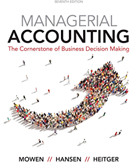 Amazon managerial accounting for managers ebook eric noreen managerial accounting the cornerstone of business decision making fandeluxe Images