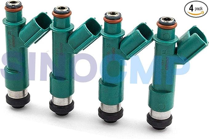 4PCS 23250-0P090 Fuel Injectors Nozzel Fits For Toyota Camry Lexus 3.5L