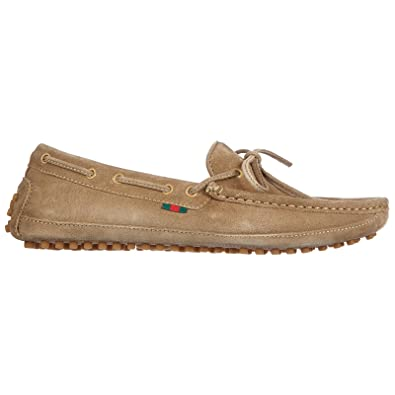 b61c59e98c3 Gucci boys shoes child loafers moccassins suede leather moca softy cloud  beige UK size 4 371811