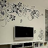 Amovible Stickers Muraux Fleurs Mur eTiquette Mur Mural Maison DeCor Chambre DeCor Enfants HG-0275