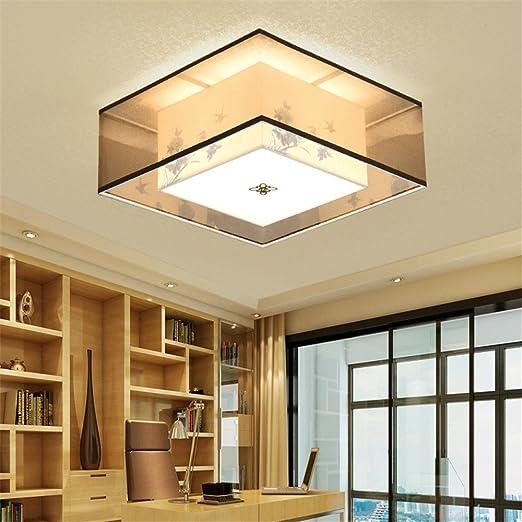 BRIGHTLLT Luz de techo nuevo chino China viento telas salón ...
