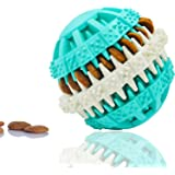 Dog Toy Rubber Ball for Pet IQ Training/Chewing/Tooth Cleaning,Non-Toxic 3.2inch Diameter