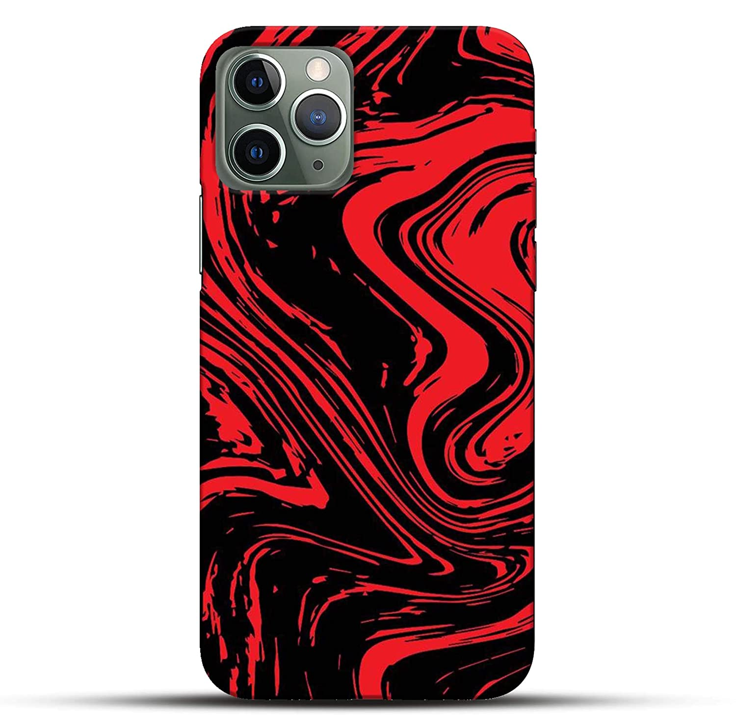 Pikkme Funky Dope Cool Red Black Modern Art Abstract Amazon