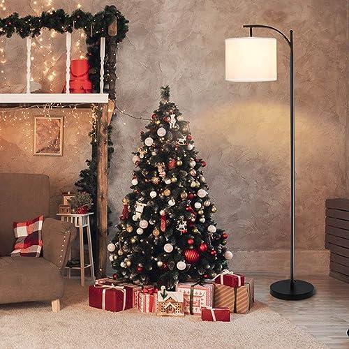 Industrial Floor Lamp,Retro Arc Standing Floor Lamp